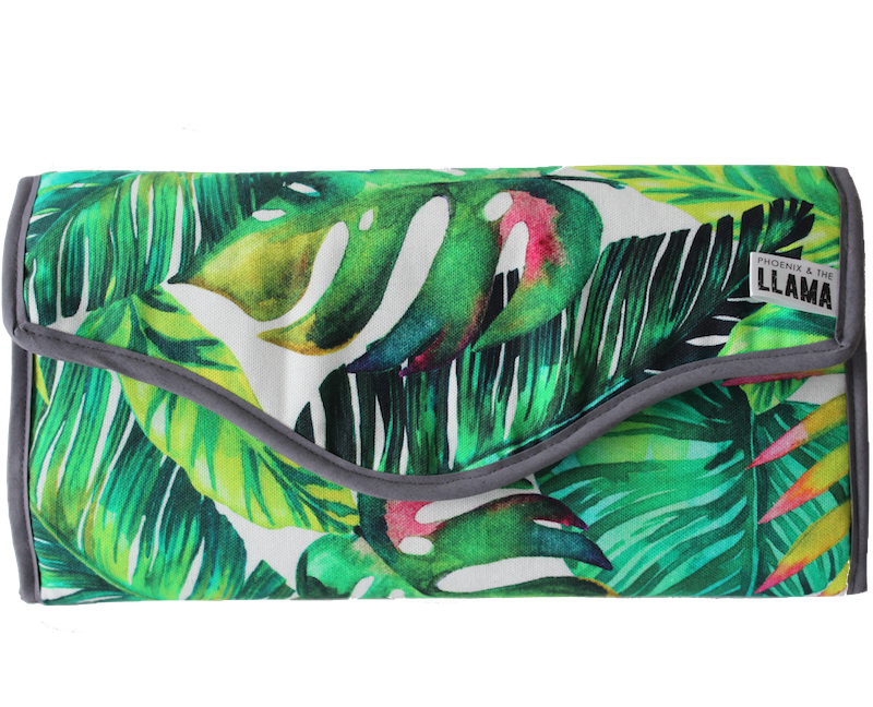 Tropicana Diaper Clutch Bag