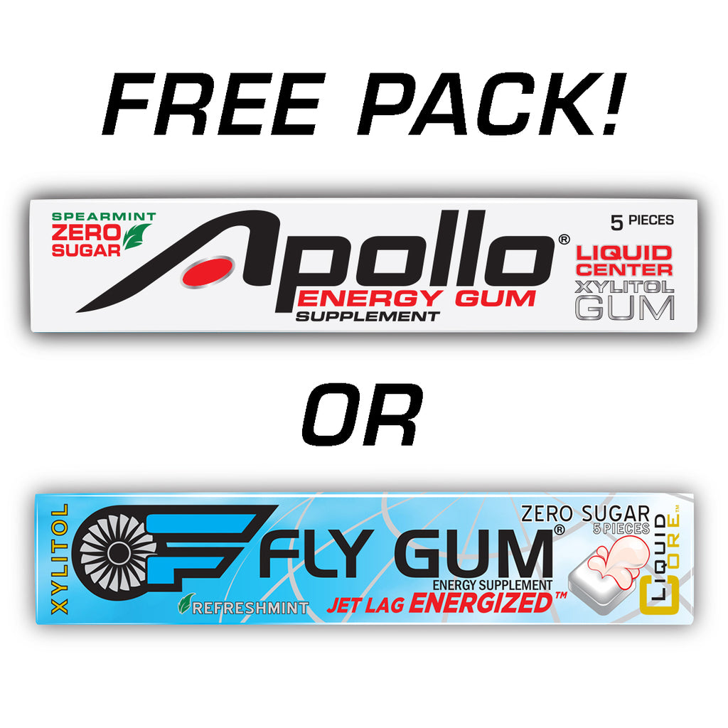 Apollo Brands FREE PACK (Specify Apollo® or FLY GUM® in Order Notes)