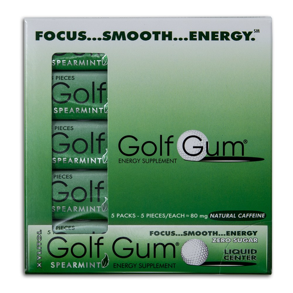 Golf Gum 5-Sleeve