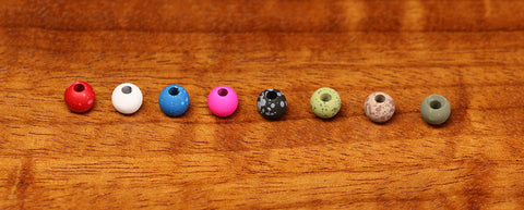 3/16 4.6mm Mottled Tactical Tungsten Beads