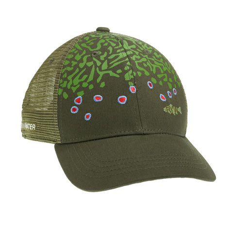 Brook Trout Skin Hat