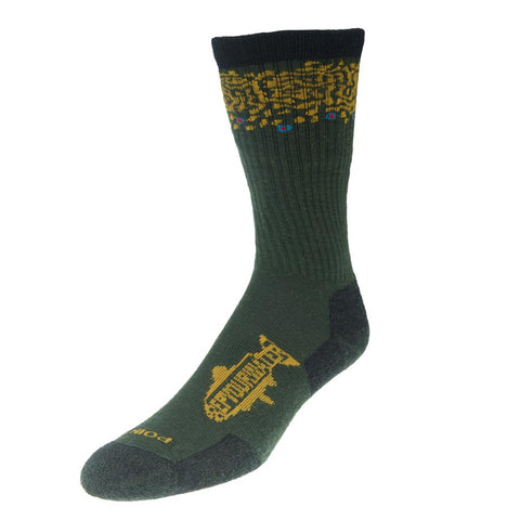 Trout Band Socks - Brook Trout