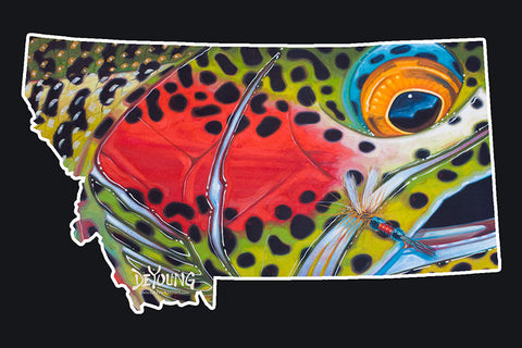 Montana Royal Rainbow Decal