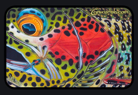 Royal Rainbow Trout Decal