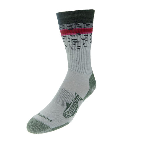 Trout Band Socks - Rainbow Trout
