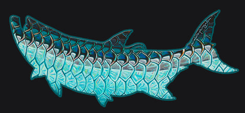 Tarpon Flank Cutout Decal