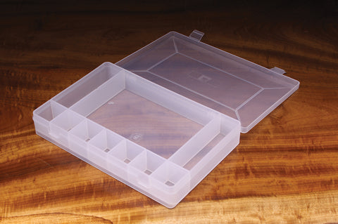 Flip Cap 4 Small 2 Long Compartment Box