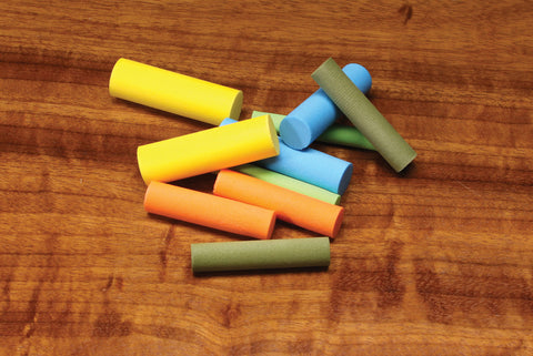 Foam Cylinders Multiple Colors