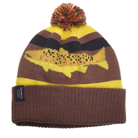 Digi Brown Knit Hat