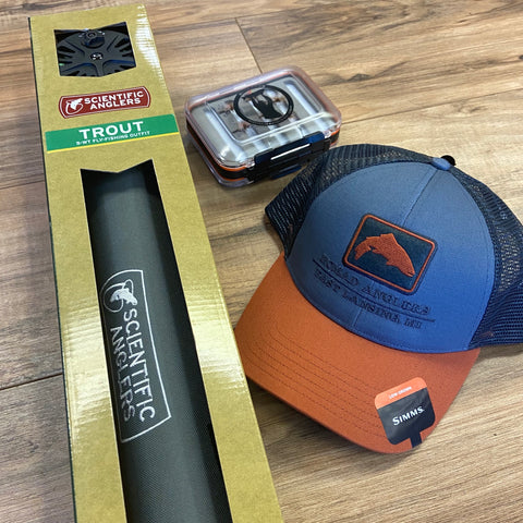 SA Fly Fishing Kit and Private Lesson