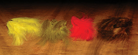 Mini Marabou multiple colors