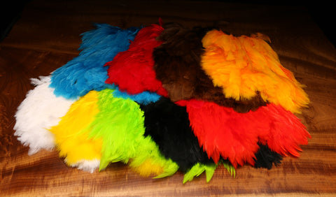 Soft Hackle Marabou Patch