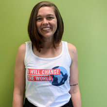 'I Will Change the World' Women's Tank Top