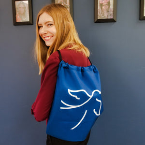 Tahirih Dove Drawstring bag