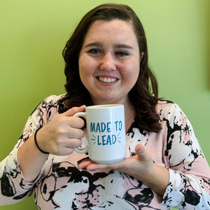 'Made to Lead' Mug