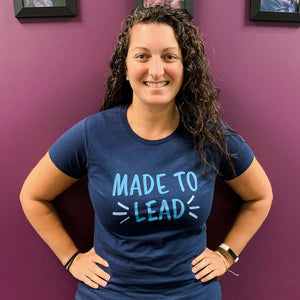 'Made to Lead' Women's Tee