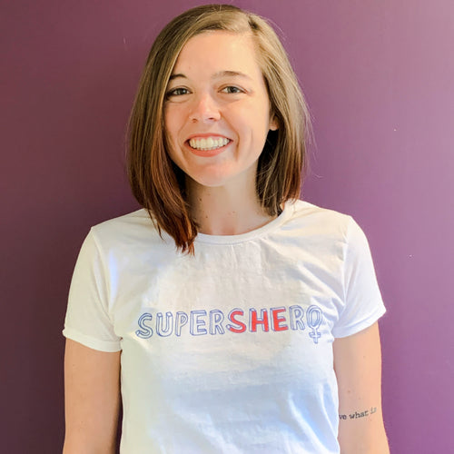 'SuperSHEro' Women's Tee