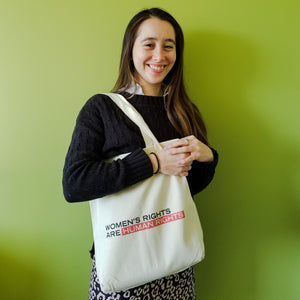'Women's Rights are Human Rights' Tote Bag