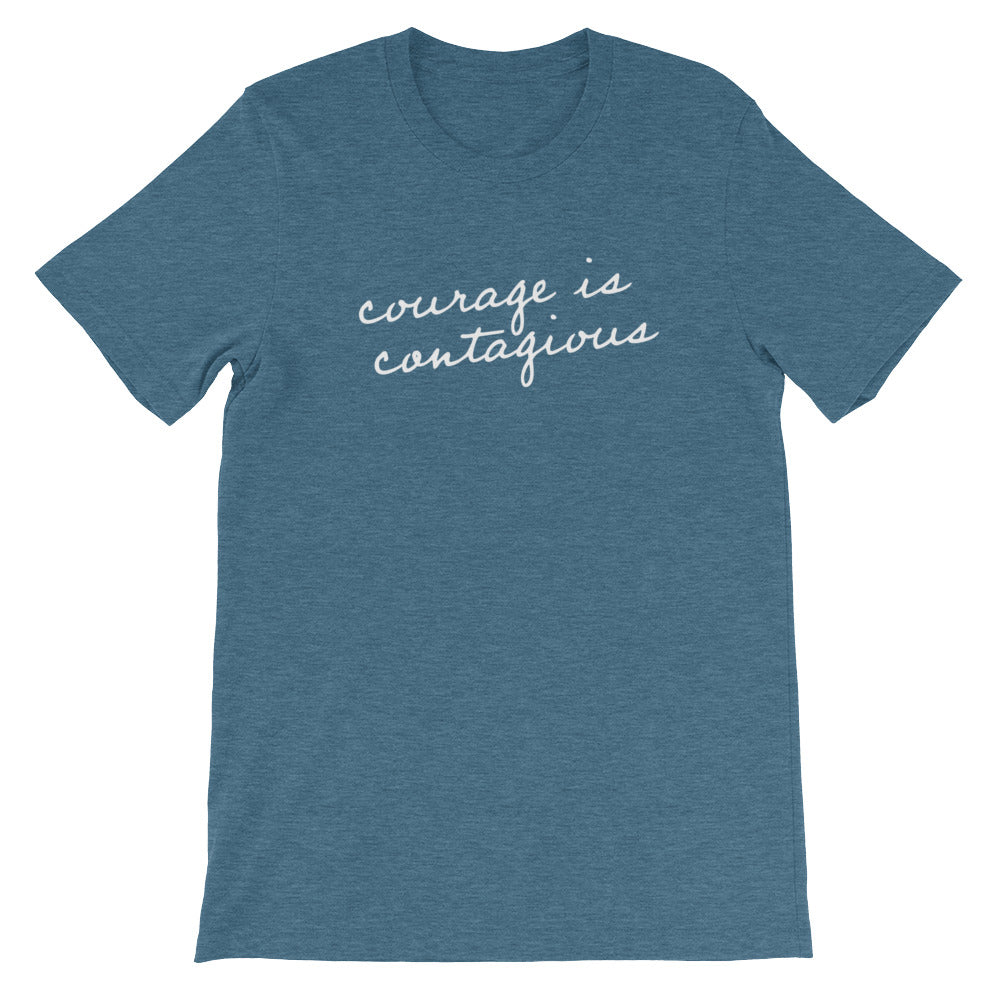 'Courage is Contagious' Tee
