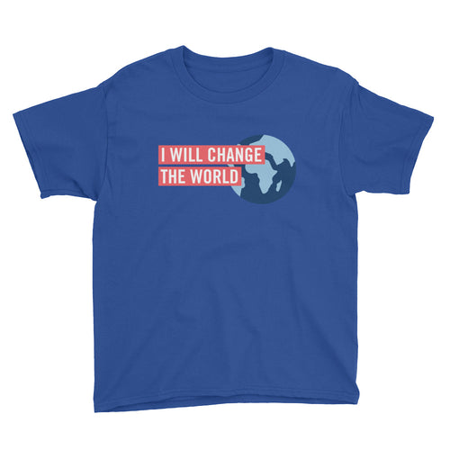 'I Will Change the World' Youth Tee