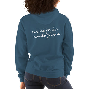'Courage is Contagious' Hoodie