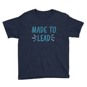 'Made to Lead' Youth Tee