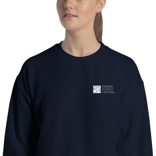 Tahirih Logo Embroidered Sweatshirt