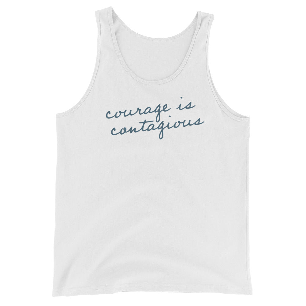'Courage is Contagious' Tank Top