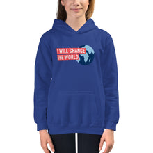 'I Will Change the World' Kids Hoodie