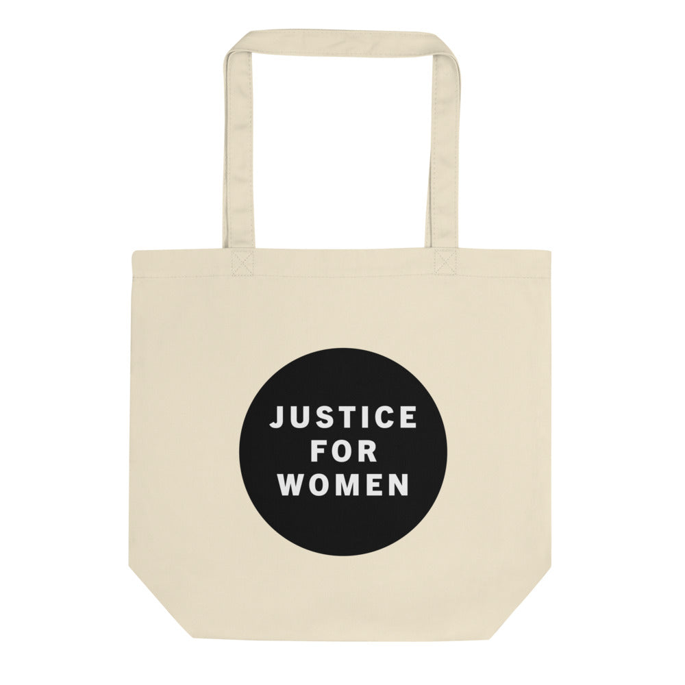 'Justice for Women' Cotton Tote Bag