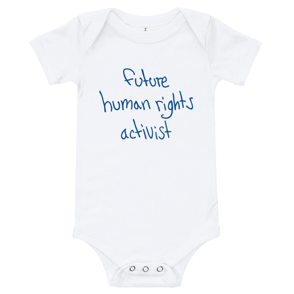 'Future Human Rights Activist' Onesie