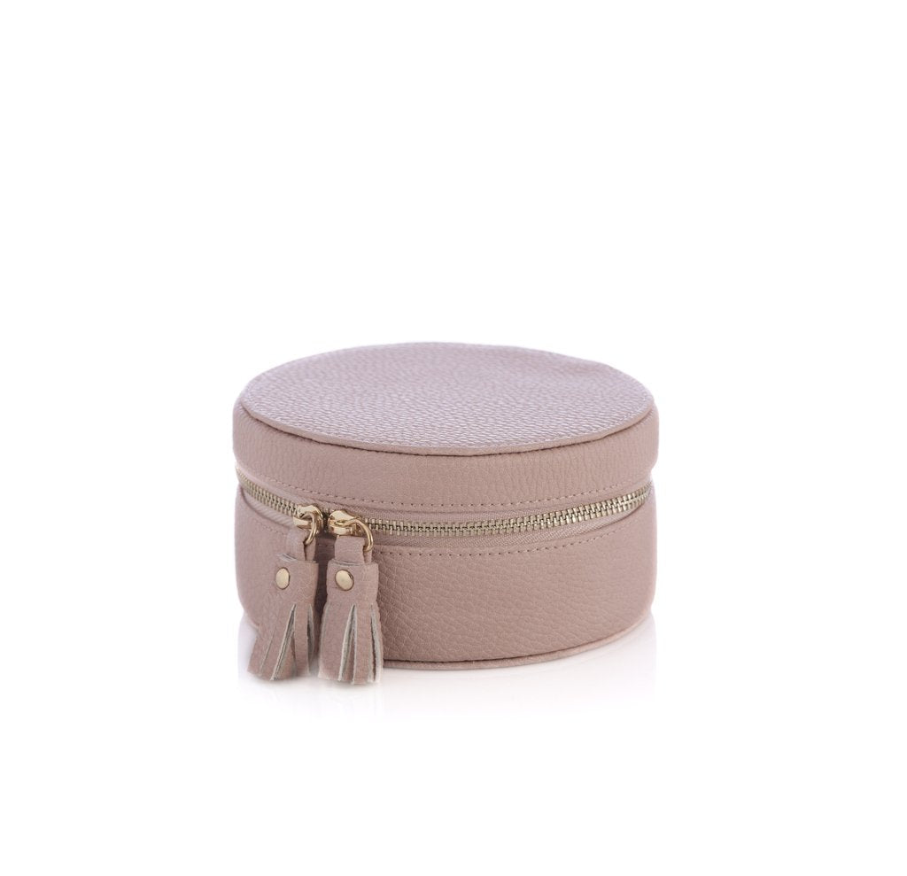 Gigi Leather Jewelry Box