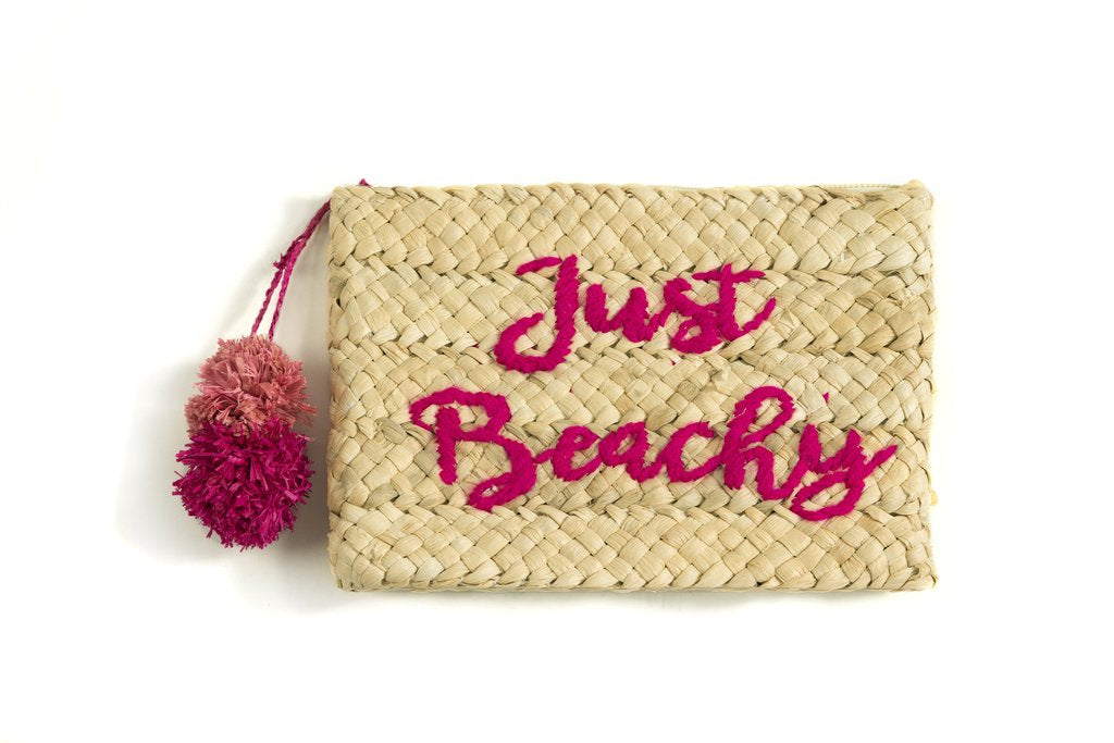 Just Beachy Zip Pouch