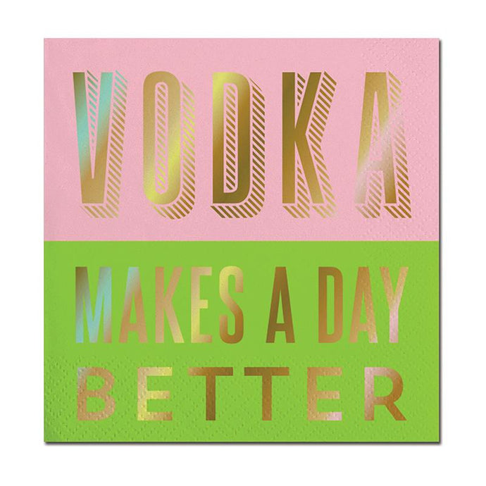 Vodka Makes A Day Better