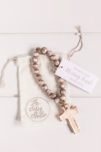Gray Bitty Blessing Beads