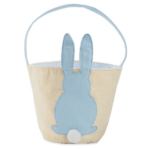 Canvas Bunny Basket