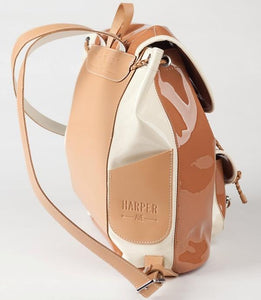 Mini Palladio Toffee Brown Backpack