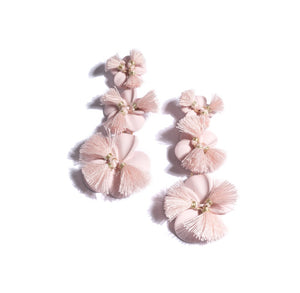 Fleur 3 Tier Earrings