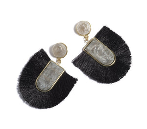Rumer Earrings-Black