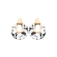 Maria Hoops Black/White