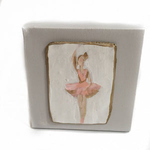 4X4 Cameos on Canvas Ballerina