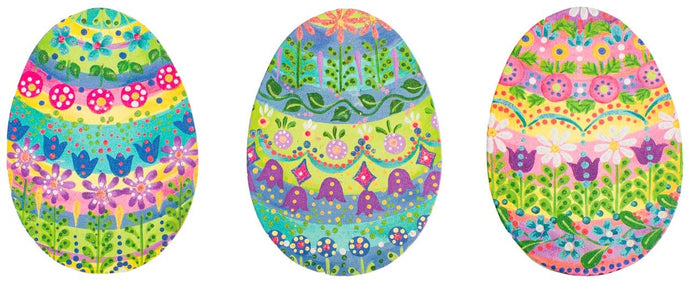 Small Easter Egg Door Hanger/Stake