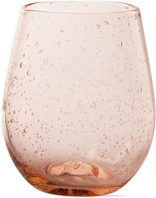 Blush Bubble Stemless Wine Glass