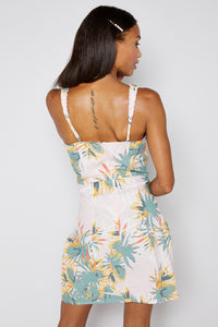 Tropical Linen Dress