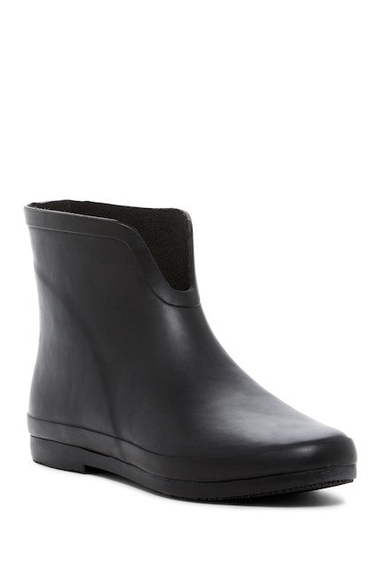 Black Ankle Rainboot