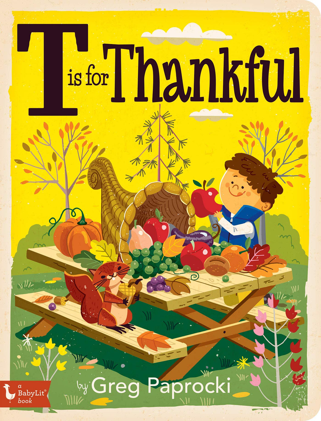 T is for Thankful