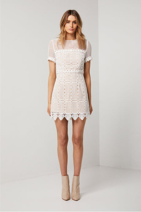 White Freyai Dress