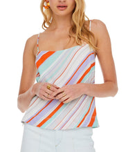 Pop Orange Stripe Tank
