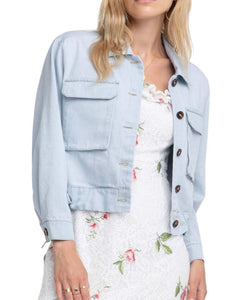 Light Wash Bentley Denim Jacket