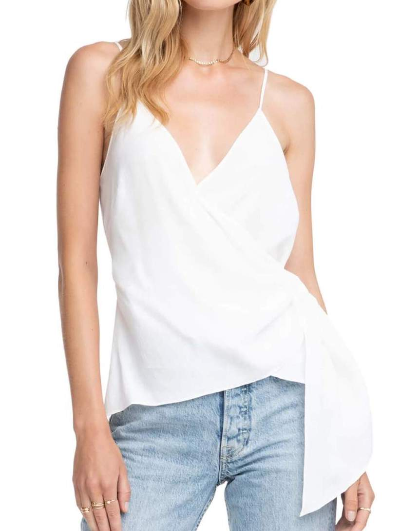 White Landon Top